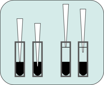 Pipetting error positive control tubes